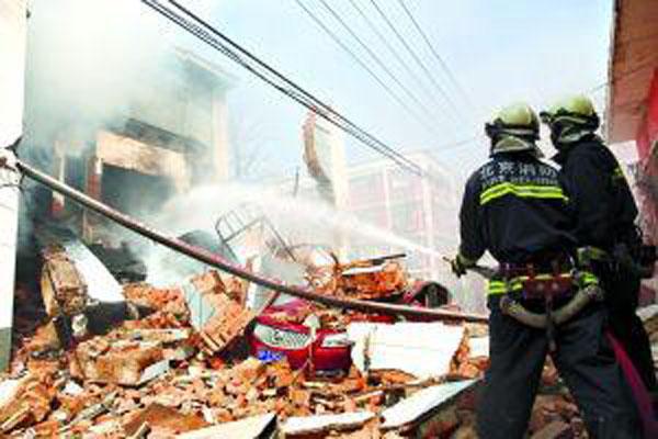北京居民楼燃气爆燃事故已致6死1伤